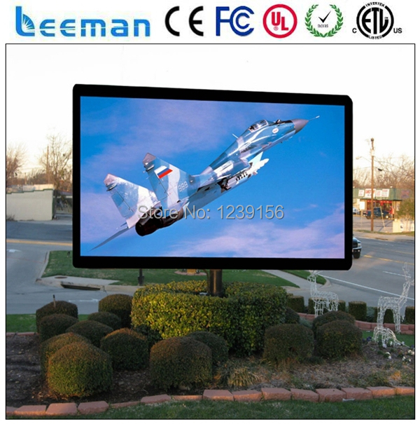 P20 P16 waterproof outdoor advertising LED display panel board  led programmable sign display board