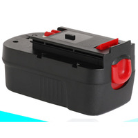 18V Rechargeable Ni MH battery 3000mah for Black Decker cordless Electric drill screwdriver KC9651CN BD18PSK BDGL1800