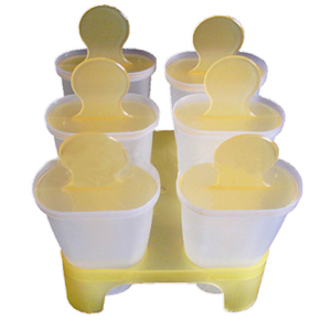 Image 5 - Lolly Mould Tray Pan Kitchen Randomly color 6 Cell Frozen Ice Cube Molds Popsicle Maker  DIY Ice Cream Tools Cooking tools-in Ice Cream Makers from Home & Garden