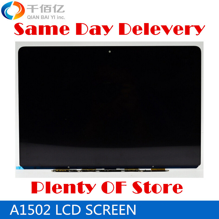Laptop 100% New A1502 LCD Screen 13' For Macbook Pro Retina 2013 2014 2015 3pcs lot new for macbook pro retina 13 a1502 2015 lcd led display screen lp133wq2 sja1 lsn133dl02 a02 2013 2014