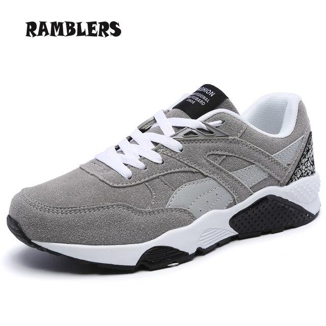 Новый Мужчины Повседневная Замшевые Туфли Удобные Легкие Повседневная Обувь мужская Мода Дизайнер Zapatos Хомбре Повседневная Обувь Размер 38-44