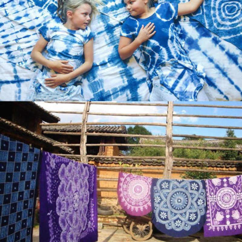 18 colores DIY un paso Tie Dye Kit tela textil artesanía arte permanente pintura Color ropa tinte suministro