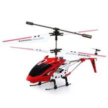Syma S107G 3.5CH Mini Drones Indoor Co-axial Metal xiaomi Original drone RC Helicóptero Construido en el Giroscopio de Control Remoto juguetes