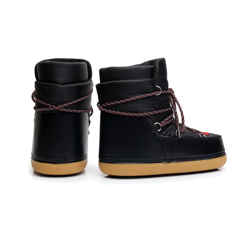 ... ENPLEI snow boots women s ski boots winter Lace-up cold-proof boots  waterproof ankle ... 83dc5980ff79