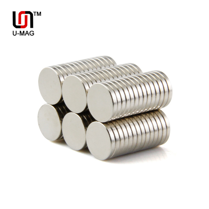 30Pcs 8mm x 15mm Rare Earth Neodymium Magnets Round Strong Magnet Wholesale N50