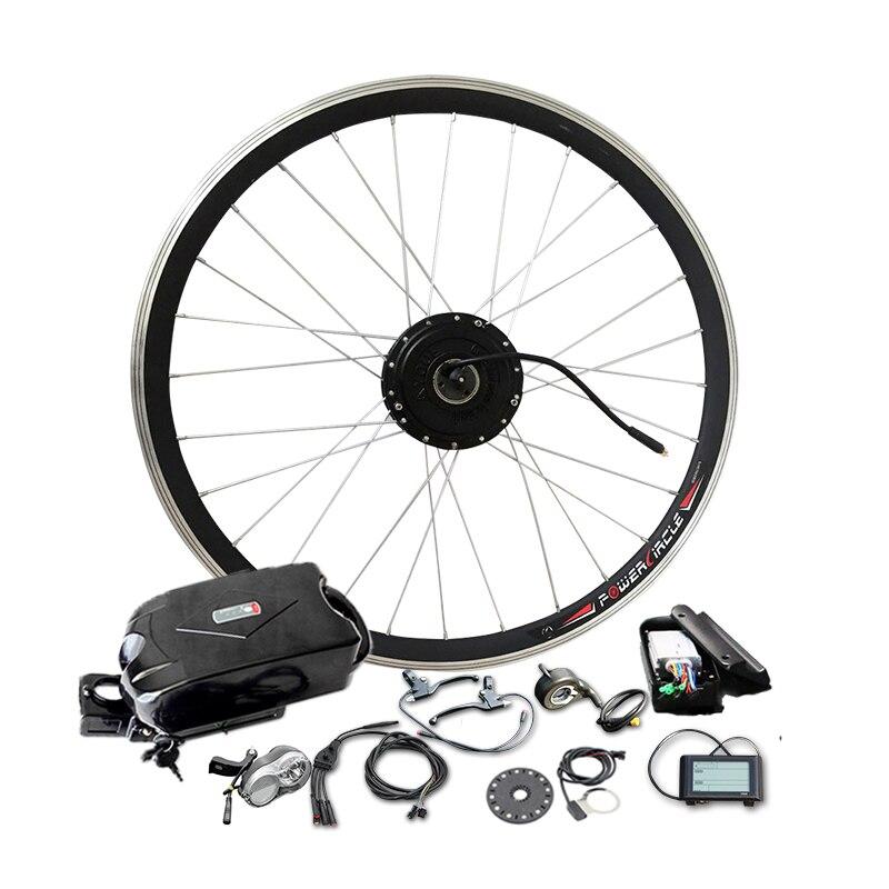 Jueshuai 36 V 10Ah литиевых Батарея 350 W 500 W мотор эпицентра для Мощный электрический велосипед безщеточный колесо для электрического велосипеда на