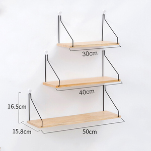 Image 5 - Nordic Style Scandinavian 1PC Metal Wall Shelf Wall Decor Shelf Kids Room Decoration Organizer Storage Holders