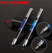 Free Shipping Brand Office Executive Fast Writing Metal Roller Ballpoint Pen Business Buy 2 Pens Send Gift