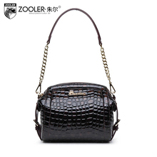 2015 New zooler genuine leather women bag brands fashion quality women shoulder messenger bags cowhide Business briefcases