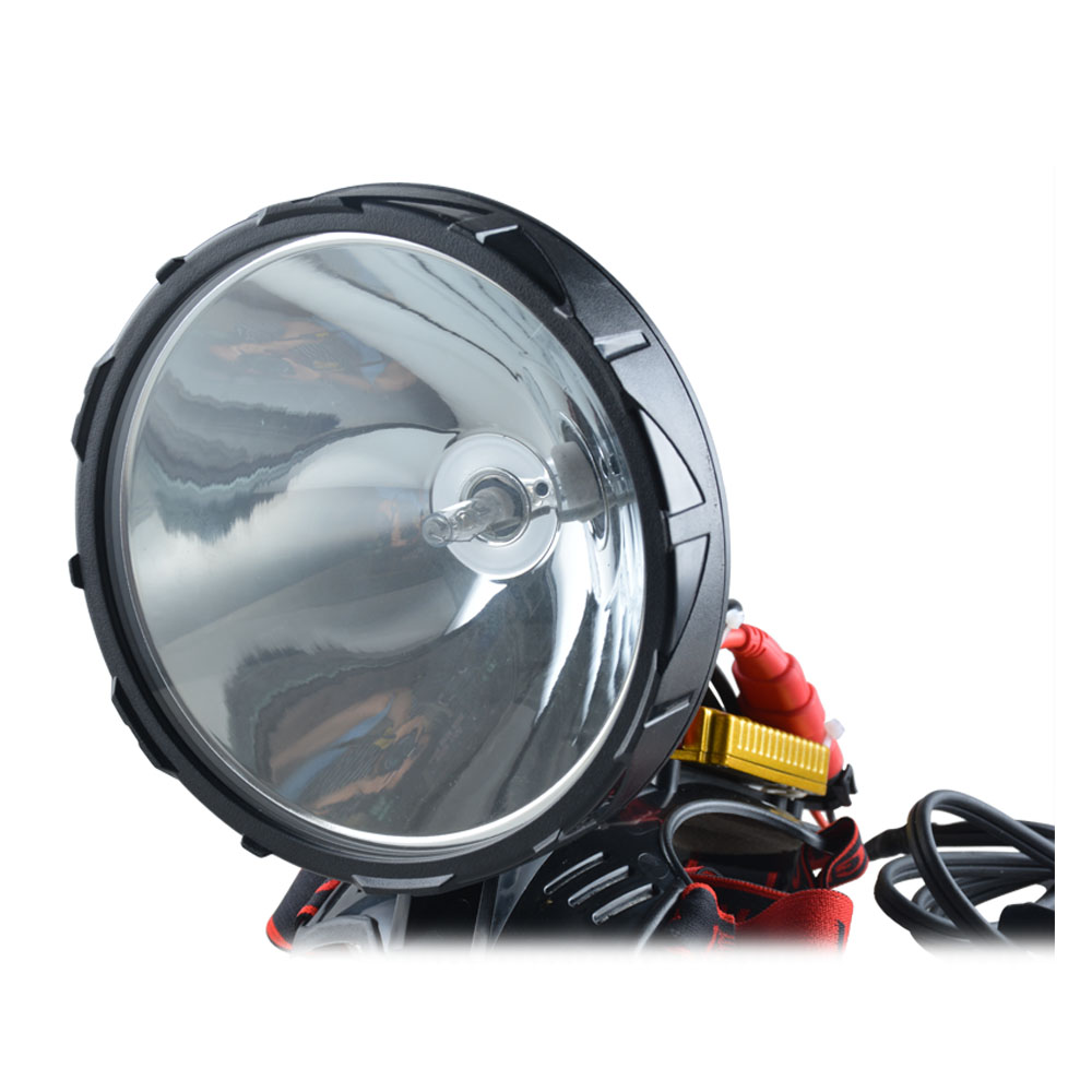 Portable Head Flashlight Xenon Spotlight 12V 160W HID Headlamp Fot Hunting,camping,fishing,work