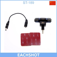Microphone adapter cable+Microphone for GoPro Hero 3 3+ 4