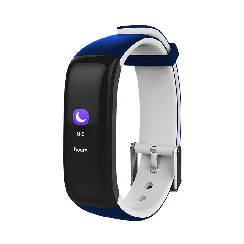 P1 Color OLED Tuch Screen Smart Wristband Smart Bracelet Heart Rate Monitor Sleep Tracker Fitness Tracker Blood Pressure Band