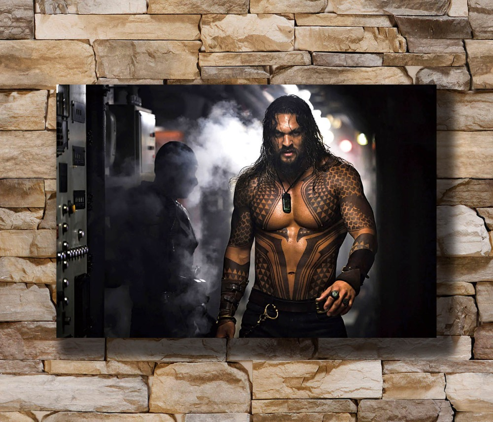 N1431 DC Jason Momoa Aquaman 2018 Movie Superhero 8x12