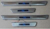 High Quality Stainless Steel Scuff Plate Door Sill For 2011 KIA K5 Car Styling