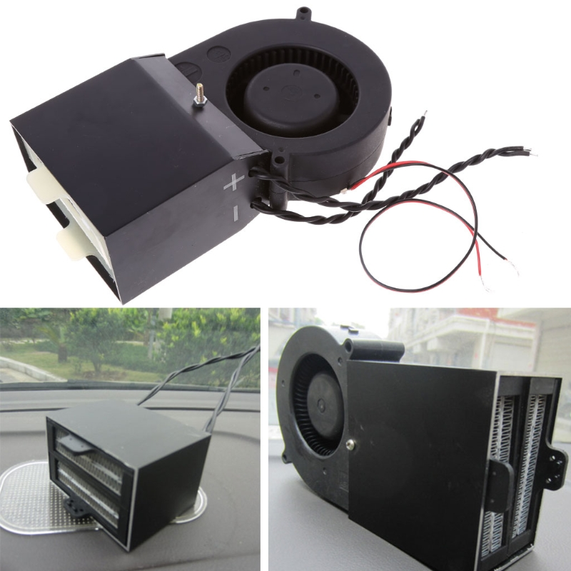 DC12V Adjustable 350W 500W PTC Ceramic Car Heating Heater Hot Fan Defroster Demister Car Electrical Heating Fans Instant Heating стоимость