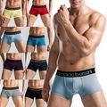 Comfy Sexy Underwear Mens Boxer Shorts Bulge Pouch soft Underpants L-XXXL 8 Colors