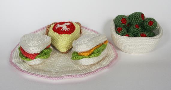 Crochet Toys  Amigurumi Snacks  Model Number 0956