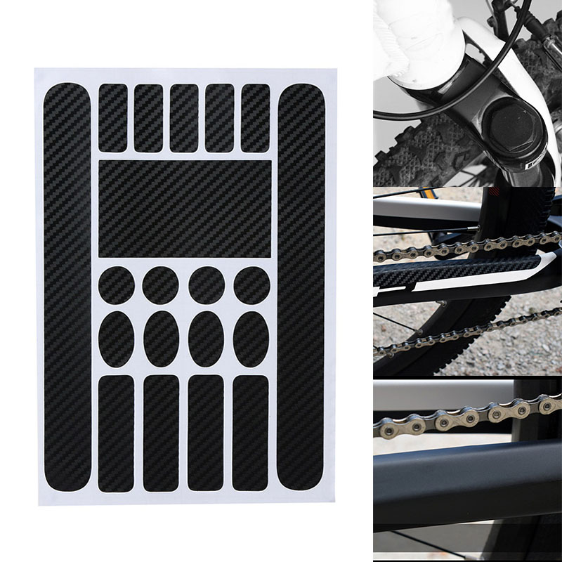 Newly Bike Frame Anti-Scratch Protective Sticker Waterproof Scratch Protector Stickers for MTB Bicycle BF88