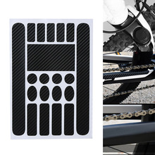 Newly Bike Frame Anti-Scratch Protective Sticker Waterproof Scratch Protector Stickers for MTB Bicycle BF88 west biking bicycle protective film waterproof polyurethane anti scratch transparent mtb road bike protective frame gear sets