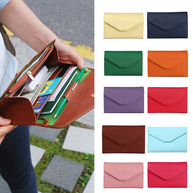 New Multifunctional Temperament Fashion Passport Bag Women s Thin Soft  Travel Documents Purse AGD FA B Women bag Women bag 15e37cc67