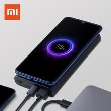 Xiaomi 10000 мАч Беспроводное зарядное устройство Банк мощности 10 Вт QI зарядное устройство 18 Вт USB-C двухсторонняя Быстрая зарядка Внешняя батарея