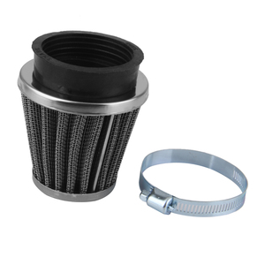 Image 3 - 1 Pcs Universal Air Filter Rubber Connector For 50mm Filter Pod Internal Diameter Motorcycle ATV Etc