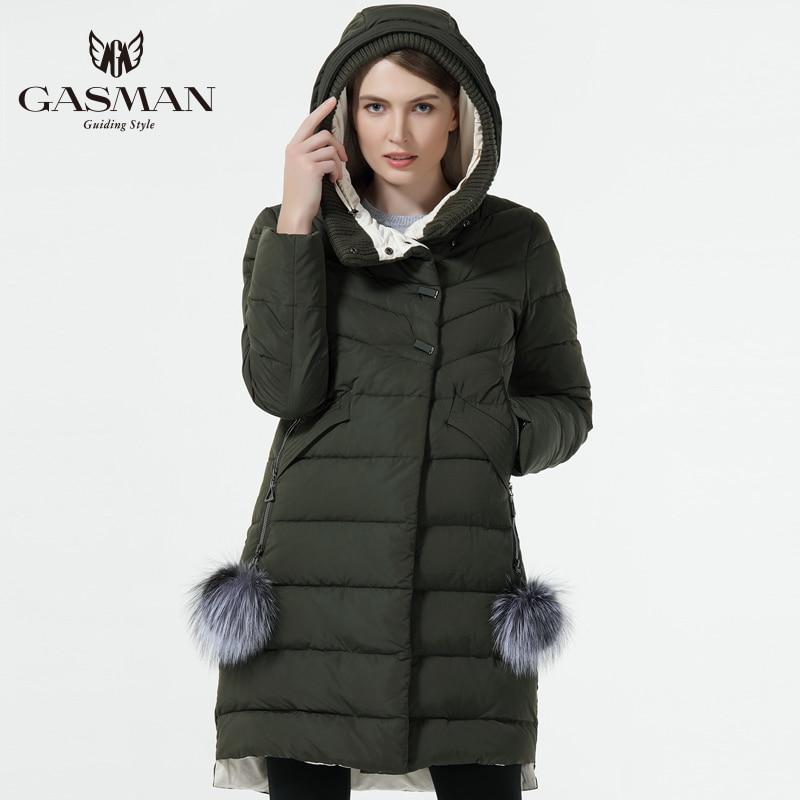 OFTBUY 2019, зимняя женская куртка, новая длинная парка, пальто с натуральным мехом, большой воротник из меха енота, парка с капюшоном, толстая вер... - 4