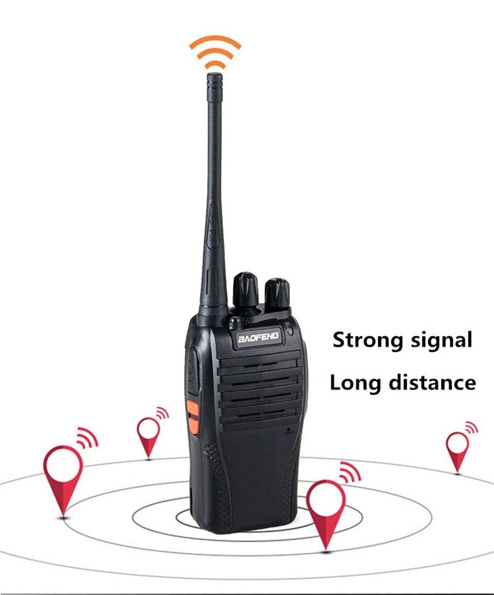 Generic 999s Walkie Talkie 16CH UHF 400-470MHz Ham Radio HF