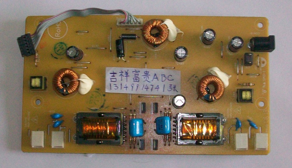 Free Shipping>Original  LW98  W19 high-voltage power supply board 715G1299/-123456 with needle stock-Original 1 l1502 f1523 high voltage power supply board board 715l1034 1a 1 used disassemble