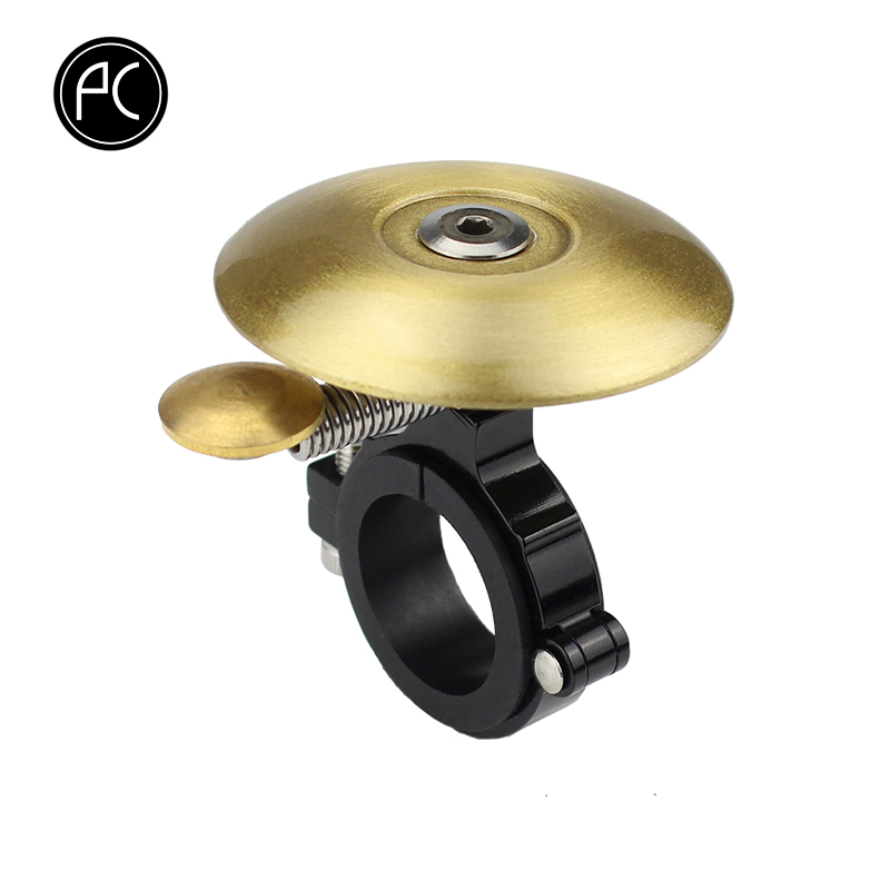 PCycling Bicycle Bell Fixed Gear Road Bike Manual Bell Cute Child Bells Mini Thicker Brass MTB Horn Safety Warning Bell