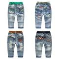 Ребенок 2017 стили Новая мода детские джинсовые брюки длинные брюки мальчиков джинсы 8 стили для детей повседневные брюки, zc