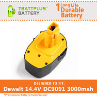 1X Extended 3 0AH 14 4V DC9091 DW9091 DW9094 Battery For DEWALT 14 4 Volt Tools