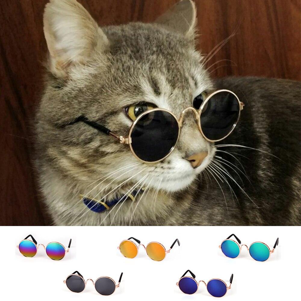 d702bdb84686 Fashion Pet Glasses Small Pet Dogs Cat Glasses Sunglasses Elegant Pet Puppy  Eye-wear Protection