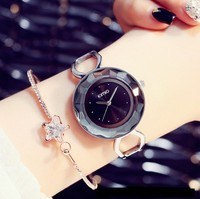 KIMIO Brand Fashion Women Dress Watches Ladies Stainless Steel Bracelet Relogio Feminino Casual Womens Quartz Watch