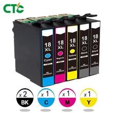 5 шт. T1811 переработанного чернильного картриджа для XP212 XP215 XP 225 XP312 XP315 XP412 XP415 XP102 XP202 XP205 XP302 XP305 XP402 XP405 принтер