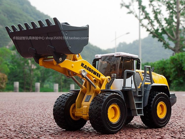 Loader-dozer leviathans large forkfuls bulldozer full alloy model car toy $5 off per $50