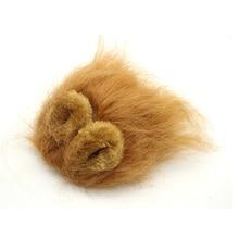 Pet Puppy Dog Cat Lion Mane Wig Cap Hat Halloween Christmas Dogs Cats Animal Cosplay Fancy Dress Animal Autumn Winter Costume
