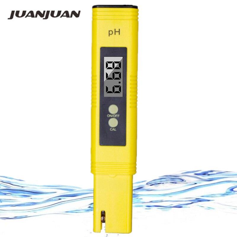 Hohe präzision 0,01 Digital LCD Aquarium Wasser Säure PH meter Pool Analysator Urin automatische kalibrierung 25% off