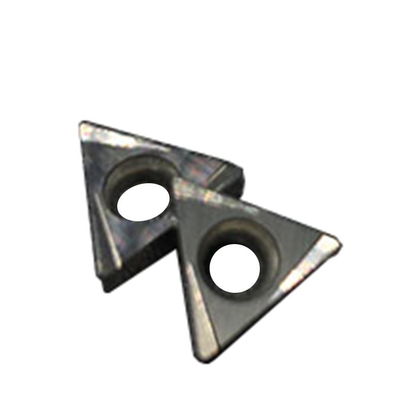 10PCS TBGT060104 L CT3000 ابزار عطف داخلی Cermet Grade Carbide Cetet Carbide Gray ابزار برش تراش ابزار توکارنی
