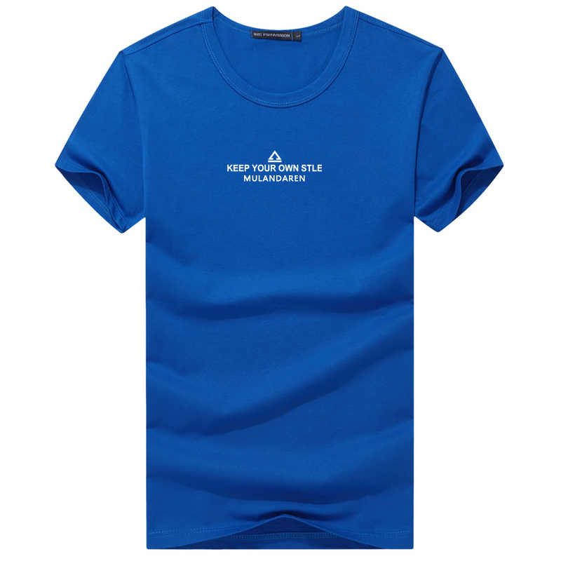 Плюс размер хлопок Тонкая футболка для мужчин Летняя мужская Повседневная Свободная рубашка с коротким рукавом 3D принт Забавный Джокер фитнес мешковатый топ тройники