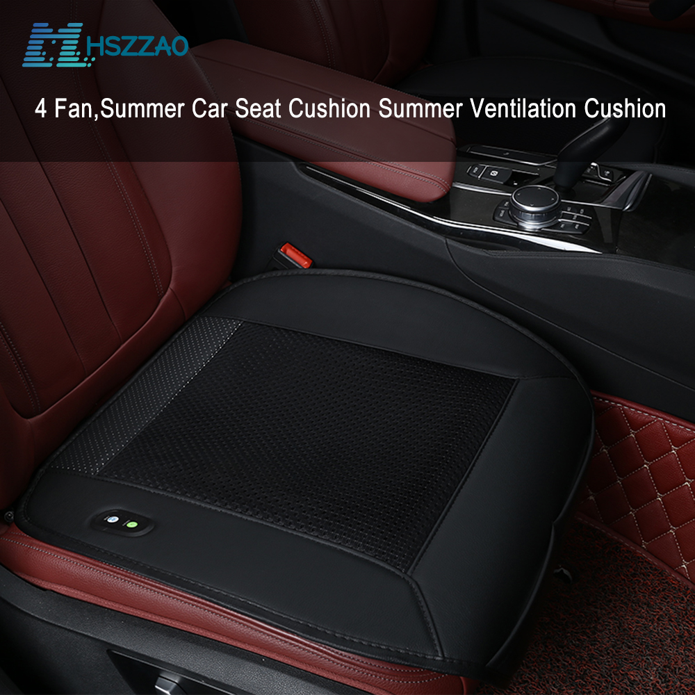 Cooling Car Seat Cushion with Car Seat Cooling Pad for Audi A1 A3 A4 A5 A6