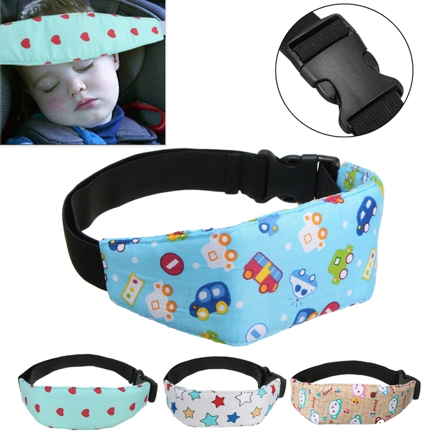 Baby Infant Auto Car Seat Support Belt Safety Sleep Aid Head Holder For Children Kids