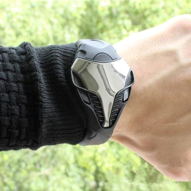 Ολοκαίνουργια ρολόγια Men Snake Shape Anamal Dial - Ανδρικά ρολόγια - Φωτογραφία 5