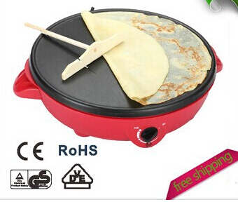 2015 new Electric Crepe Maker,Pizza Machine Pancake Machine cooking tools 220v midea electric crepe maker pancake machine pizza
