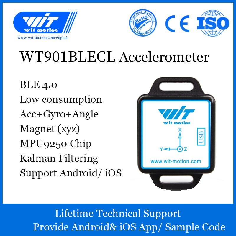 US $33 25 5% OFF|Aliexpress com : Buy Bluetooth 4 0 Inclinometer,WT901BLECL  Accelerometer+Gyro+Digital Compass(XYZ,Low Consumption IMU),Compatible
