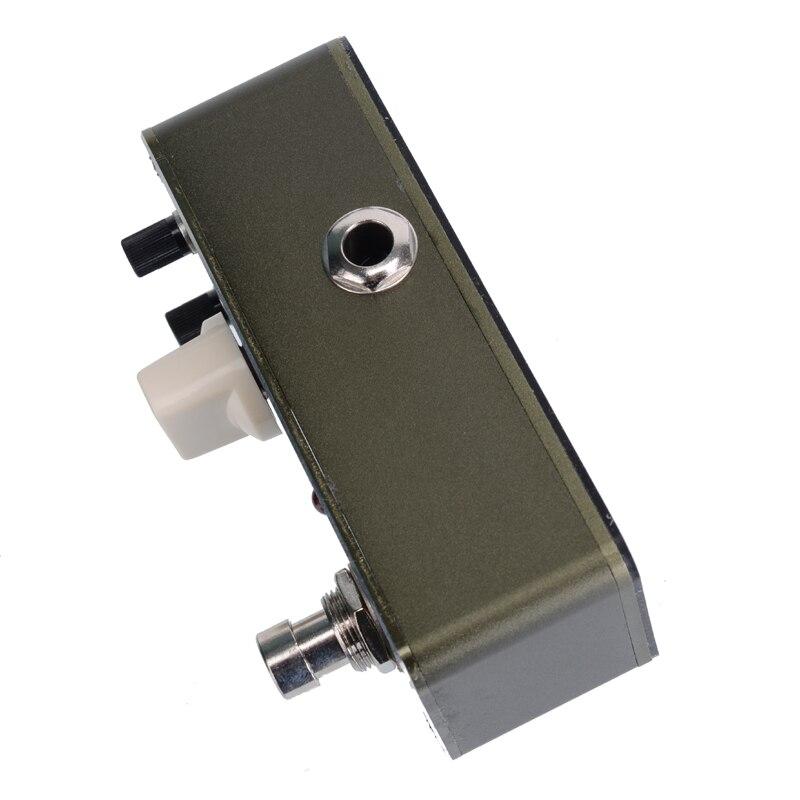 Арома ABR-3 усилитель мини гитарный эффект педаль бас ВЧ уровень Регулируемый truebbypass+ Бесплатный разъем