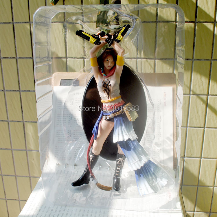 Brand New Hot Game Action Figure Toys Final Fantasy X-2 Yuna 29cm PVC Action Figure Model Toy For Gift/Collection/Kids/Children final fantasy x x 2 hd remaster
