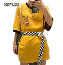 Harajuku Unisex Checkerboard Couple Belt Plaid