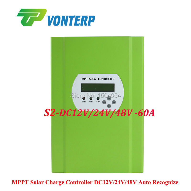 48V 60A MPPT solar charge controller, 60A Solar panel battery charger controller, with RS232 Lan Charge Vented ,NiCd, Gel mppt 60a lcd solar charge controller 12v 24v 48v auto switch mppt 60a solar charge controller mppt 60a charger controller