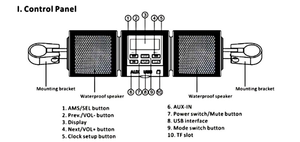 Motorcycle Speaker Mt487 Wiring Diagram - Schematics Wiring Diagrams •